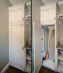 12 inch broom cabinet tall broom storage cabinet best cabinets decoration