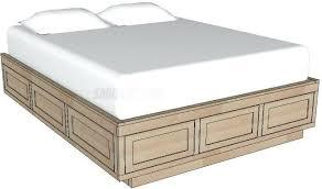Platform Bed Frames For Sale Platform Bed Platform Storage Bed Woodworking Plans