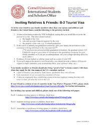Embassy Invitation Letter Sle Sle B Visa Invitation Letter Change Of Business Address Letter