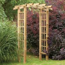 Metal Garden Arches And Trellises Garden Arches That Can Appeal Impressive Outdoor Statement