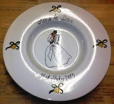 wedding signing plate the clay studio wedding signing plates
