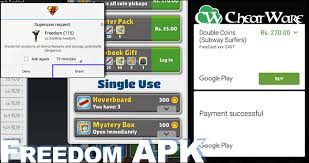 free apk freedom apk free inapp purchases in android