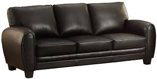 Sofa For Lobby Amazon Com Homelegance 9734bk 3 Upholstered Sofa Black Bonded