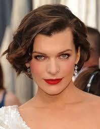 google com wavy short hairstyles celebrity hairstyles milla jovovich messy wavy short haircut