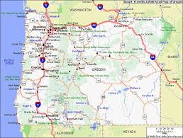 map of oregon search pacific northwest oregon