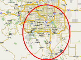 Denver Metro Map Contact Reither Construction Inc For A Free Consultation