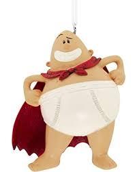 fall sale hallmark dreamworks captain underpants ornament