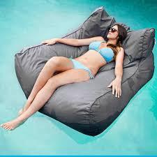 2017 wholesale floating water sofa chair hammock waterpad lake
