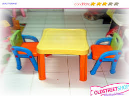 kids art table and chairs table chair for