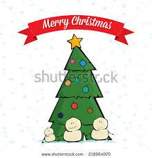 christmas tree stock vector 115542661 shutterstock