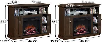 Corner Electric Fireplace Tv Stand Windsor 23