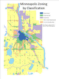 Mn Highway Map Map Monday Minneapolis Residential Zoning Streets Mn
