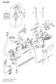 2011 suzuki king quad 750 lt a750xz wiring harness lt a750xzl1