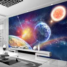 Star Home Decorations by Custom 3d Photo Wallpaper For Bedroom Walls Universe Star Home