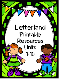 Letterland Worksheets Letterland Resource Pack Grade Units 1 10 By The Teaching Hour