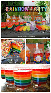 party ideas for diy rainbow party ideas mess for less