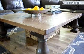 Diy Large Coffee Table by Diy Restoration Hardware Coffee Table