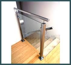 Glass Handrails For Stairs Drexler Custom Glass Frameless Glass Railings U0026 Handrails Atlanta