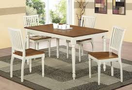 White And Oak Dining Table Wood Rectangle Dining Tables That Seats 6 500