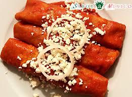imagenes enchiladas rojas sabor a mexico receta de enchiladas rojas