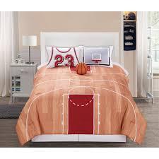 Eiffel Tower Comforter Basketball Court Queen Bedding Comforter Set Twin Full Queen
