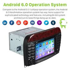 1024 600 capacitive touch screen android 6 0 1998 2005 mercedes
