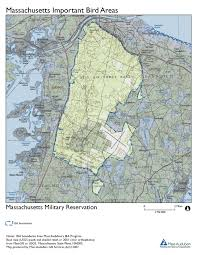 Eastern Massachusetts Map by Site Summary Massachusetts Military Reservation