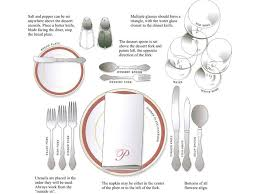 table setting a formal dinner enjoy yourself formal table settings table