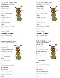 im in the army lyrics