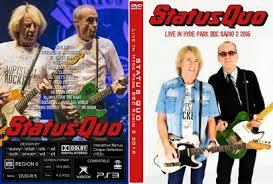 status quo live in hyde park radio 2 2016 dvd