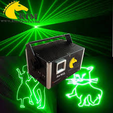 green 500mw laser beam animation sd card lighting laser show