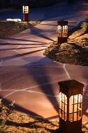 Landscape Bollard Lights Decorative Steel Bollard Lights Contemporary Outdoor Lighting