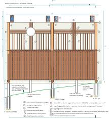 privacy fence treetrunkdings