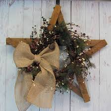 Decorated Christmas Wreaths Artificial by Last One Christmas Star Artificial Wreath Christmas Wreath