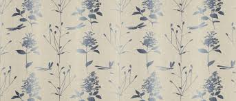 Dragonfly Garden Dragonfly Garden Ombre Chalk Blue Curtain Fabric At Laura Ashley