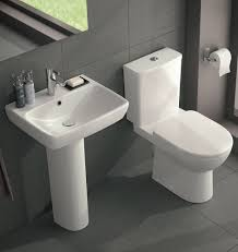 twyford e100 square toilet and wash basin set