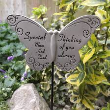 memorial butterfly special and graveside ornament
