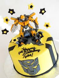 transformer birthday cake transformer cake transformers bumblebee cake renee