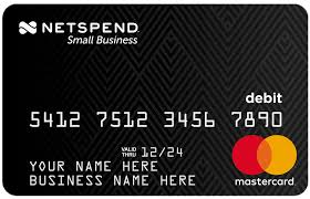 reloadable prepaid cards with no fees prepaid debit cards for personal commercial use netspend