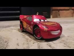 cars 3 lightning mcqueen ornament