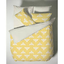 bumblebee yellow 200 thread count cotton duvet cover more available