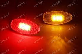 red led marker lights 4 pieces led fender bed side marker lights for chevy gmc truck