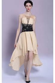 affordable dresses prom dresses online chagne hi low lace affordable