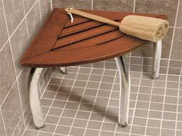 Teak Shower Bench Corner Bathroom Teak Teak Corner Shower Shelf Small Corner Teak Shower
