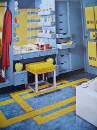 blue and yellow bathroom ideas 138 best fabulous bathrooms images on mid century