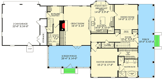 Gambrel House Floor Plans Gambrel House Plan With 2 Stairs 32629wp Architectural Designs