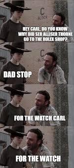 Hey Carl Meme - rick and carl long meme imgflip