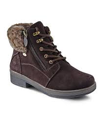 womens boots denver s jade hd2 water resistant lo lace side zip winter boots