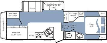 Cougar 5th Wheel Floor Plans 2008 Keystone Cougar 281 Bhs Fifth Wheel Cincinnati Oh Colerain