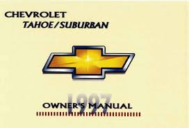 1997 chevrolet tahoe owners manual just give me the damn manual